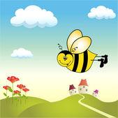 Bee happy — Stock Photo