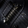 Detail of guitar as very nice musical background — Stock Photo #5487073