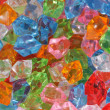 Plastic diamonds - Foto Stock