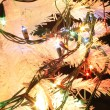 Detail of xmas tree — Foto Stock