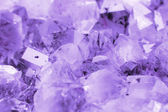 Amethyst background — Stock Photo