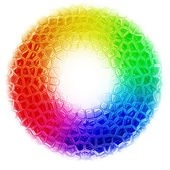 Abstract rainbow color background — Stock Photo