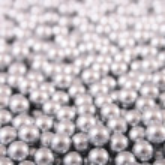 Silver balls — Stock Photo