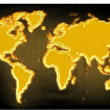 Gold map — Stock Photo #5628694