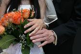 Wedding detail — Stock Photo