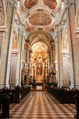 Interior of church in Wien — Stock Photo