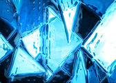 Abstract ice background — Stock fotografie