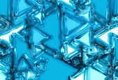 Abstract ice background — Stockfoto