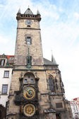 Prague clock — Stockfoto