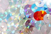 Color CD and dvd — Stock Photo