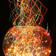 Christmas glass sphere — Stock Photo
