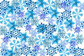 Snow flakes — Stockfoto