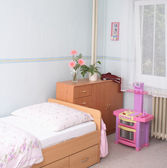 Room of girl — Stock Photo