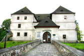 Altes schloss in tschechien — Stockfoto