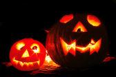 Halloween pumkins — Stock Photo