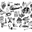 Food icons - Photo
