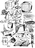 Símbolos de las matemáticas — Foto de Stock