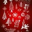 Royalty-Free Stock Vector Image: Christmas objects