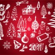 Royalty-Free Stock Immagine Vettoriale: Christmas objects