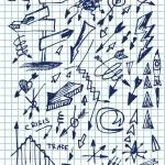Hand drawn arrows set — Stock Vector #6239977