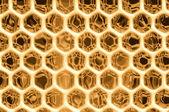 Honeytextures — Stock Vector