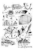 Math symbols — Stock Vector