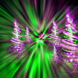 Stock Photo: Christmas forest
