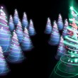 Christmas forest — Stock Photo