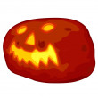 Halloween pumpkin — Stockvektor