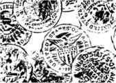 Vecchia illustrazione dollari — Vettoriale Stock