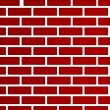 Dark red brick wall background — Stock Photo #5466543