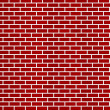 Dark red brick wall background — Stock Photo