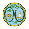 South Carolina state seal — Stock Photo