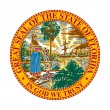 Florida state seal — Stock Photo