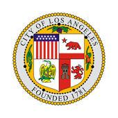Los Angeles city seal — Stock Photo