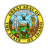 Idaho state seal — Stock Photo
