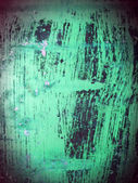 Green painted metal — Stock Photo