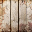 Wood vintage background - Stock Photo