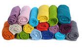 堆栈的毛巾 — 图库照片