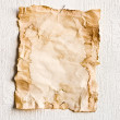 Sheet of old paper — Stock Photo #5667160