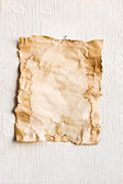 Sheet of old paper — Stock Photo