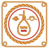 ベクトル ロープ — ストックベクタ