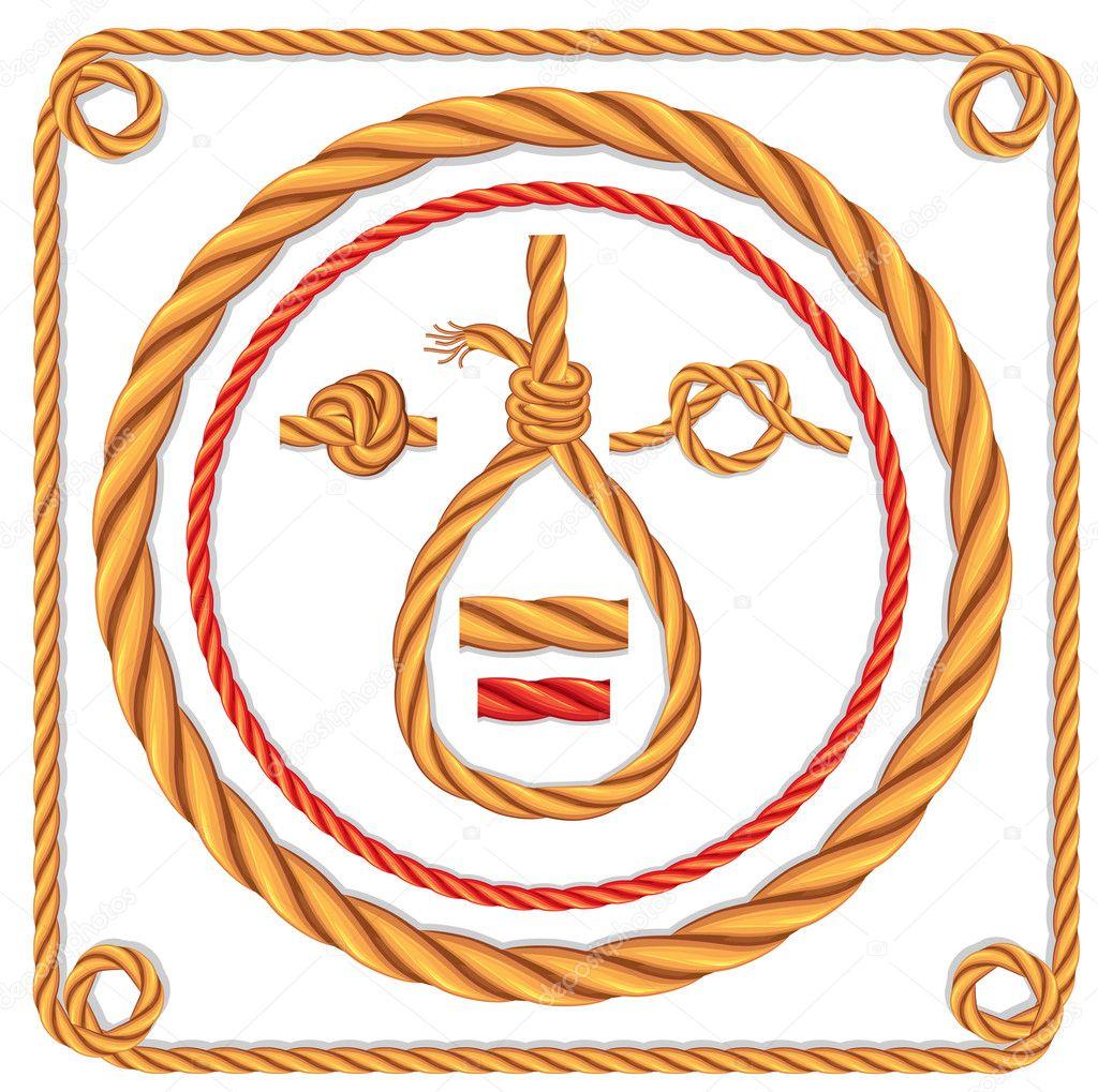 Векторная веревка - Векторное изображение wikki33 #6057800