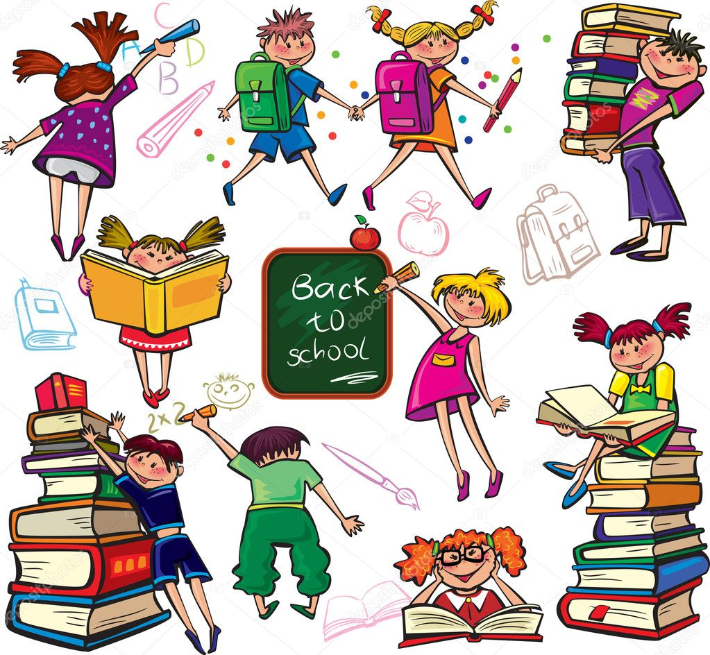 Back to school — Stock Vector #6381281