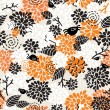 Seamless pattern for the better halloween. — Stock Vector