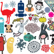 Mix of different vector images. vol.9 — 图库矢量图片 #6018842