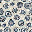 Abstract seamless pattern in marine style. — Stockvektor