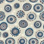 abstrakta sömlösa mönster i marin stil — Stockvektor