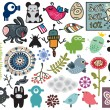 Royalty-Free Stock Vectorielle: Mix of different vector images. vol.11