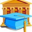 Graduation Icon — Stock Vector #5703965